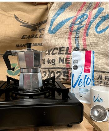 Moka Pot and Tandem Coffee